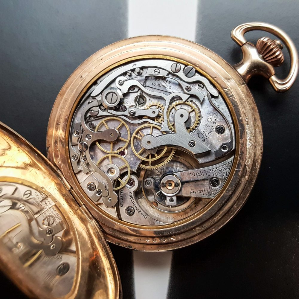 Omega chronographe de poche